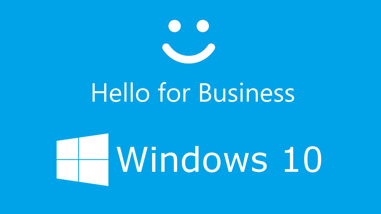 Resultado de imagen de windows hello for business